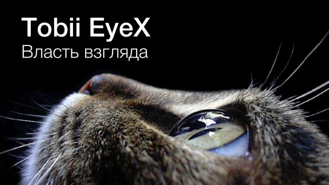 Фото - Tobii EyeX: власть взгляда