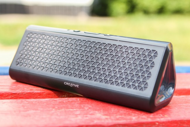 Фото - #обзор | Портативная беспроводная колонка Creative Airwave HD с поддержкой NFC