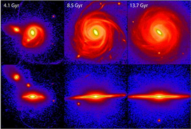 Фото - Ученые создали более точную модель формирования нашей галактики