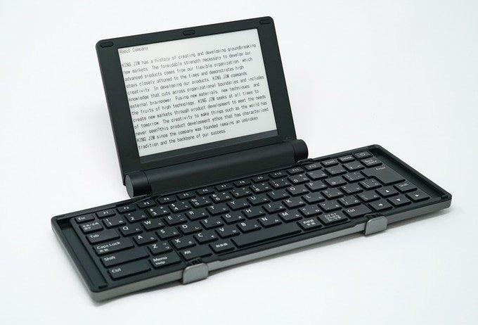 Фото - Представлена цифровая пишущая машинка с экраном E Ink»