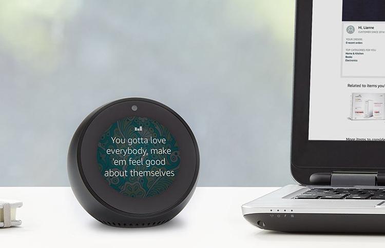 Фото - Amazon Echo Spot: смарт-будильник с голосовым ассистентом Alexa»