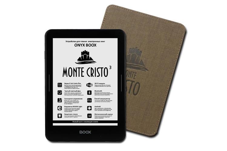 Фото - Ридер Onyx Boox Monte Cristo 3 с сенсорным экраном и подсветкой стоит 11 тыс. рублей»
