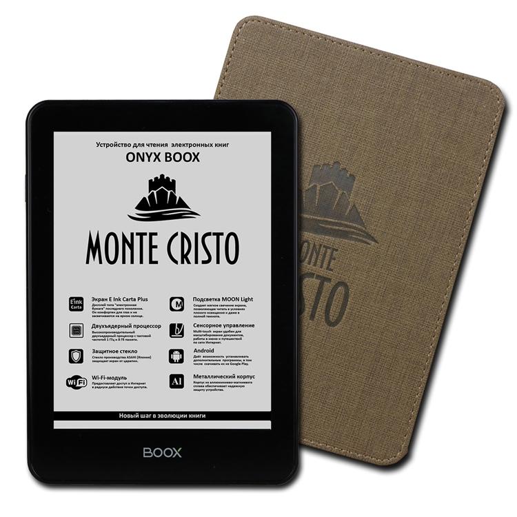 Фото - Ридер Onyx Boox Monte Cristo получил сенсорный экран с подсветкой Moon Light»
