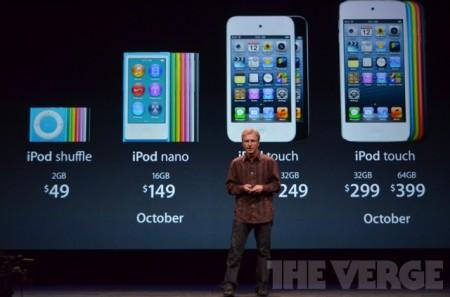 Фото - Apple обновила линейку плееров iPod и укомплектовала их наушниками EarPod